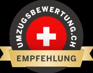 Qualitätslogo umzugsbewertung.ch